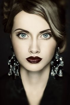 Yana :: Love the lips and those eyes...gorgeous!!