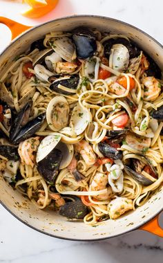Linguine allo Scoglio. Here's how you achieve full-flavored, savory-in-every-bite seafood pasta dish.