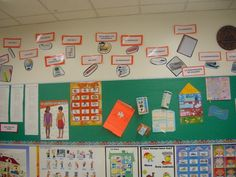 Spanish Classroom. label things in your classroom!