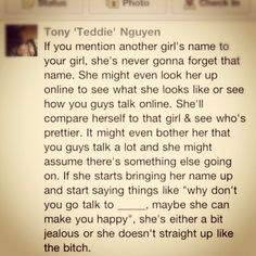 Truth about girls.