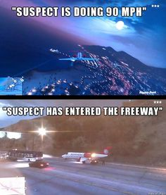 Police Radio Traffic in GTA V Fun via Reddit user DonJonSon