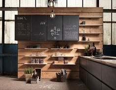 KITCHEN WITH PENINSULA WITHOUT HANDLES FACTORY | KITCHEN WITH PENINSULA | ASTER CUCINE
