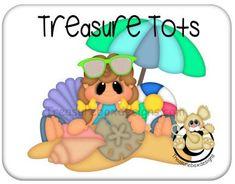 Beach Girl (Treasure Tots)