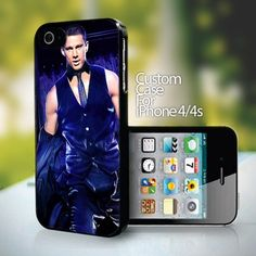 Channing Tatum Magic Mike- design for iPhone 4 or 4s case