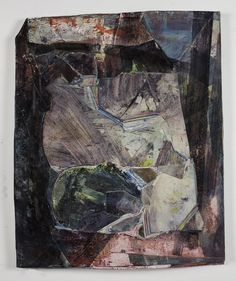 Hilary harnischfeger. - work inspired by geological landforms and strata.