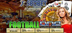 Agen Judi Online indonesia terpercaya deposit 50ribu menyediakan permainan baccarat, roulette, slot mesin, blackjack dan sicbo Main Judi Bola Sbobet Mobile