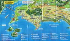 Panama City mapa www.CoolPanama.com