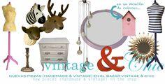 VINTAGE & CHIC: decoración vintage para tu casa [] vintage home decor: muy personal [] very personal