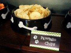 Pawtato Chips - Paw Patrol Party