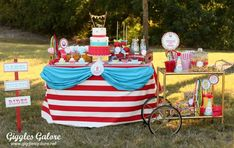 Carnival/Circus Birthday Party Ideas | Photo 7 of 12