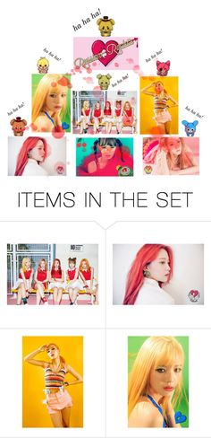 """""""Red Velvet and FNAF - Russian Roulette"""" by reveluv-br ❤ liked on Polyvore featuring art"""