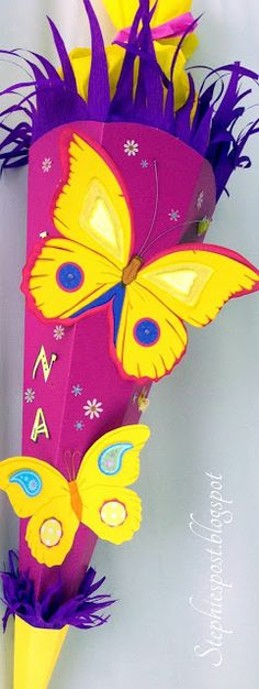 1000 images about schultueten on pinterest basteln shops and butterflies. Black Bedroom Furniture Sets. Home Design Ideas