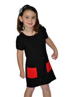 Emma Black Dress Jr
