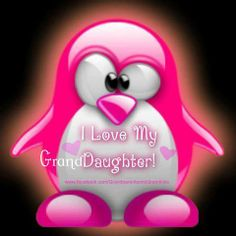 I LOVE MY GRANDAUGHTER