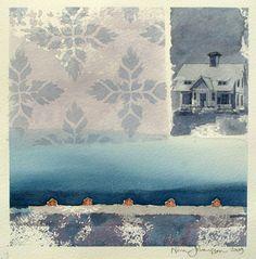 Nina Johansson - The Island, Winter Dusk (2009)