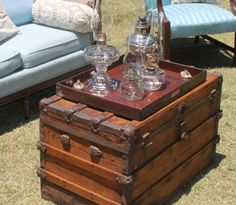 DIY - how we refinished an antique trunk