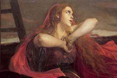 Magdalena al peu de la Creu (detall)  Weerts, Jean Joseph
