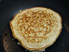 Egg White Oatmeal Pancakes  ¾ cup uncooked oatmeal, 7-9 egg whites, 3 Tbsp Splenda (I use honey),  Cinnamon to taste, Vanilla Extract to taste (usually about a capful). Blend all ingredients until everything is blended. Pour in med/large pan (I use a crepe pan) heated to medium. Cook until bubbles form on the top (about 5 minutes). Flip and cook another 3 minutes. Makes one large pancake. I top with peanut butter and fruit preserves or fresh fruit.