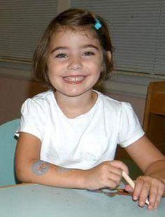 Caroline Previdi  9/07/06 - 12/14/12  female  (Sandy Hook Elementary School in Newtown, CT)
