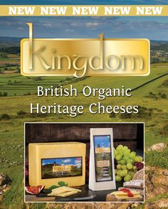 OMSco's Kingdom Cheddar Packaging, Graphic Design, Food Packaging