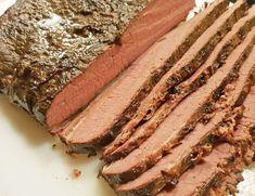 Oksespidsbryst - Sous Vide - EnHimmelsk Mundfuld Steak, Food And Drink, Pork, Breakfast, Life, Kale Stir Fry, Morning Coffee, Pigs, Steaks