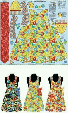 Church Ladies' Aprons by Mary Mulari for Penny Rose Fabrics—
