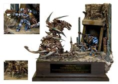 One of the most legendary battles among 40k fans...The bunker is cool...but I personally like the Tyranids