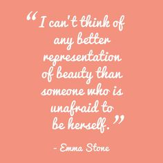 What's your representation of beauty?