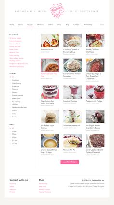 Dashing Dish Site V2 by Sean Farrell - Recipe index