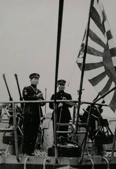 The launching ceremony for the Japanese submarine RO-51, formerly U-1224, in 1944 Germany. Last known picture before the submarine was sunk by the United States Navy.