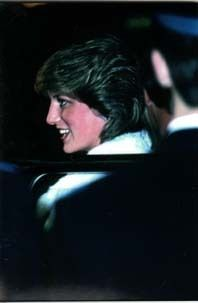 13 Dec 1981 Diana attends the Friends of Covent Garden Christmas Party at the Royal Opera House
