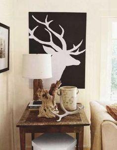I love this deer print