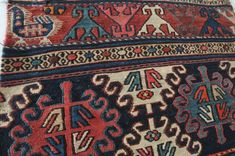 Aktuell in den Mafrash, front of a bag, Iran, antique, x 51 cm Iran, Bohemian Rug, Colours, Rugs, Decor, Antiquities, Farmhouse Rugs, Decorating, Dekoration