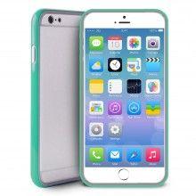 Bumper iPhone 6 Puro Turquesa com Protetor Ecrã 17,99 €