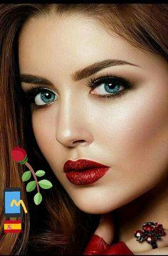 Com pretty eyes, cool eyes, beautiful lips, gorgeous women Most Beautiful Eyes, Beautiful Blue Eyes, Pretty Eyes, Gorgeous Women, Stunning Eyes, Beauty Full Girl, Beauty Women, Belle Silhouette, Woman Face