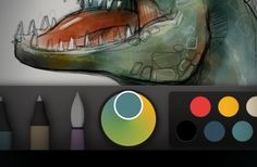The Magical Tech Behind Paper For iPad's Color-Mixing Perfection   Fast Company