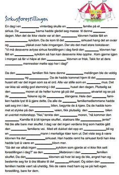 I am in the process of trying to collect some fun mad libs to use in Norwegian class. Here are a few from Sjømannskirken that are great! Th...