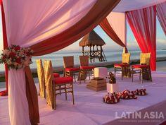 #indiandestinationweddings #cancun #rivieramaya by @weddingcancun