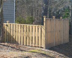 Wilmington, NC Wood fencing