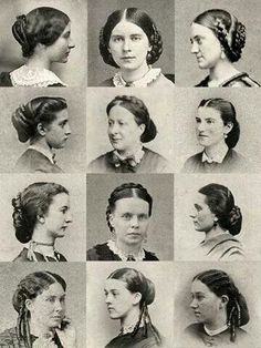 Some elegant hairstyles for Oriel and her family.