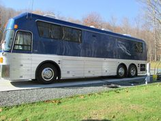 Hank snow and kelly traveled in a custom built silver Silver eagle motor coach