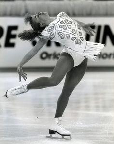 Tonya Harding during the 1992 Winter Olympics in Albertville, France. Tom Treick/The Oregonian
