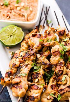 Grilled Chicken Sata