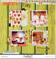 *Imagicallery*: {Scrapbooking} Layout- Moments in Time