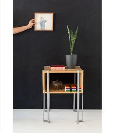 Mesa de noche Alce Nightstand, Magazine Rack, Cabinet, Storage, Interior, Furniture, Home Decor, Moose, Bedside Tables