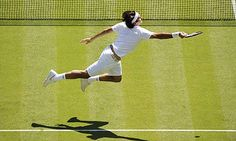 Jenkins captures Roger Federer , Wimbledon 2007.