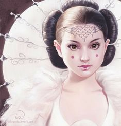 Explore the Star Wars collection - the favourite images chosen by on DeviantArt. Star Wars Fan Art, Star Wars Padme, Star Wars Brasil, Queen Amidala, Star Wars Drawings, Art Drawings, Star Wars Girls, The Phantom Menace, Star War 3