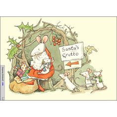Santa's Grotto - Anita Jeram