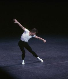 "New York City Ballet production of ""The Four Temperaments"" with Mikhail Baryshnikov, choreography by George Balanchine (New York)"