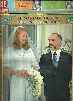 Point de vue N°1561 Mariage du Roi Hussein de Jordanie in Livres, BD, revues | eBay